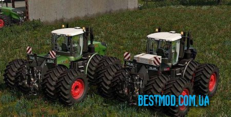 FENDT VARIO T FL PACK BLACK / GREEN V3.0 ДЛЯ FARMING SIMULATOR 2017