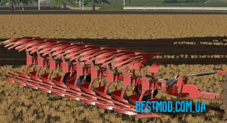 LEMKEN DIAMANT 12 КРАСНЫЙ V1.0 ДЛЯ FARMING SIMULATOR 2017