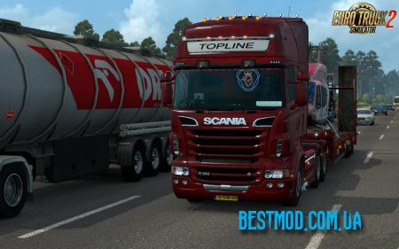 ENHANCED DRIVING EXPERIENCE V1.8.1 ДЛЯ EURO TRUCK SIMULATOR 2