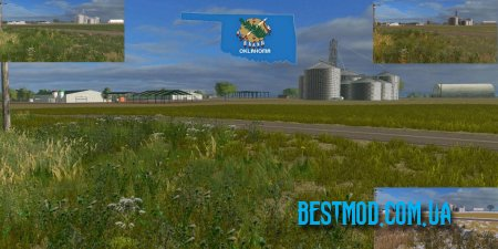 OKLAHOMA USA 2017 MAP V1.0 ДЛЯ FARMING SIMULATOR 2017
