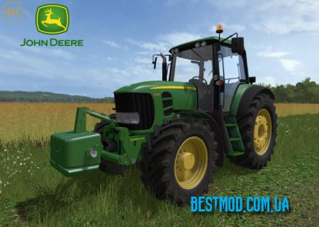 JOHN DEERE 7030 E PREMIUM SERIES + WEIGHT V2.0.1.5 ДЛЯ FARMING SIMULATOR 2017