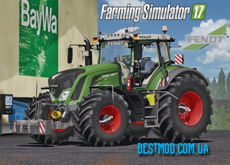 FENDT 900 VARIO FULL PACK DH V2.0 ДЛЯ FARMING SIMULATOR 2017