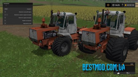 Т-150К КРАСНЫЙ V1.0 ДЛЯ FARMING SIMULATOR 2017