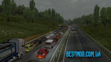 REAL AI TRAFFIC ENGINE SOUNDS ДЛЯ EURO TRUCK SIMULATOR 2