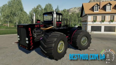 BIG BUD 747-450 BLACK BEAST V1.0.1.1 ДЛЯ FARMING SIMULATOR 2019