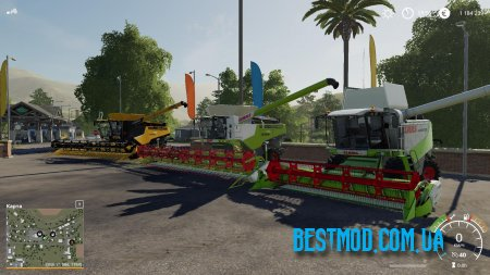 CLAAS PACK BY JBK V1.0 ДЛЯ FARMING SIMULATOR 2019