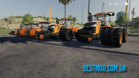 CHALLENGER TRACTOR PACK BY STEVIE ДЛЯ FARMING SIMULATOR 2019