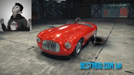 АВТОМОБИЛЬ FERRARI 166MM BARCHETTA ДЛЯ CAR MECHANIC SIMULATOR 2018