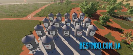 PLACEABLE REFILL STATIONS BY GAMLING V1.0.0.0 ДЛЯ FARMING SIMULATOR 2019