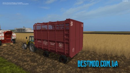 2ПТС4 ФУРГОН V4.0 ДЛЯ FARMING SIMULATOR 2017