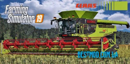 CLAAS LEXION 795 MONSTER LIMITED EDITION V2.0 ДЛЯ FARMING SIMULATOR 2019