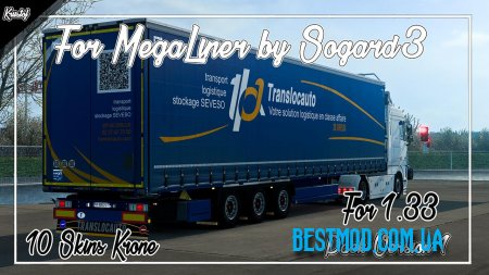 KRIISTOF PACK FOR MEGALINER ДЛЯ EURO TRUCK SIMULATOR 2