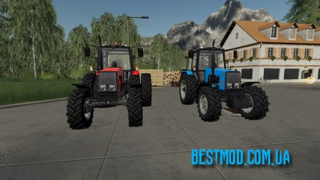 БЕЛАРУС МТЗ-1221 V2.0.4 [UPD: 19.01.19] ДЛЯ FARMING SIMULATOR 2019