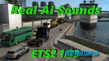 REAL AI TRAFFIC ENGINE SOUNDS ETS2 1.33.C ДЛЯ EURO TRUCK SIMULATOR 2 (Видео)