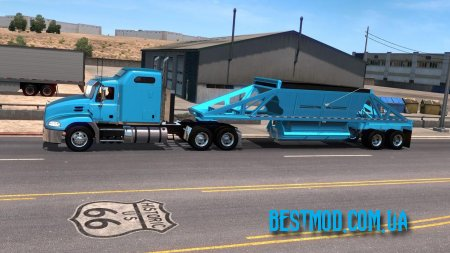 TRAILKING BELLY DUMP OWNABLE 1.34 ДЛЯ AMERICAN TRUCK SIMULATOR
