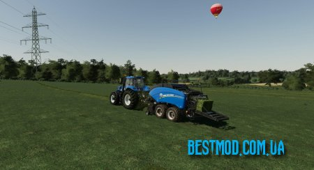 NEW HOLLAND BB1290+ V1.0 ДЛЯ FARMING SIMULATOR 2019