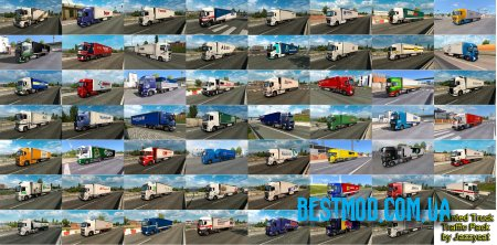 PAINTED TRUCK TRAFFIC PACK V8.1 ДЛЯ EURO TRUCK SIMULATOR 2