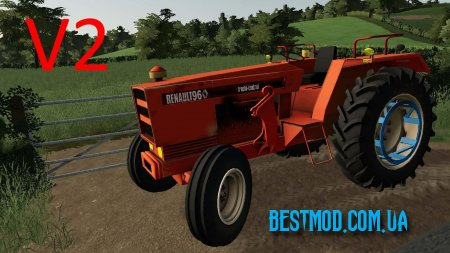 RENAULT 96 V2.1 ДЛЯ FARMING SIMULATOR 2019