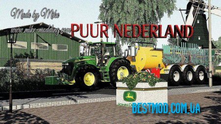 PUUR NEDERLAND V2.1.0.0 ДЛЯ FARMING SIMULATOR 2019