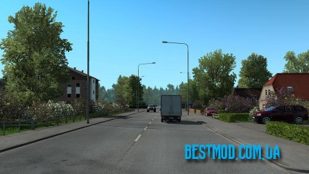 NEW SUMMER GRAPHICS/WEATHER V3.2 ДЛЯ EURO TRUCK SIMULATOR 2
