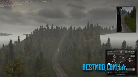 PROMODS 2.41 + RUSMAP 1.9.0 ROAD CONNECTION V4.3 ДЛЯ EURO TRUCK SIMULATOR 2