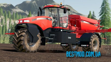 CASE IH TITAN 3540 SELF-PROPELLED SPREADER V1.0 ДЛЯ FARMING SIMULATOR 2019