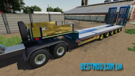 DOLL LOW LOADER TRAILER V1.0.0.0 ДЛЯ FARMING SIMULATOR 2019