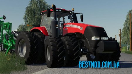 CASE IH MAGNUM US SERIES V1.0.0.0 ДЛЯ FARMING SIMULATOR 2019