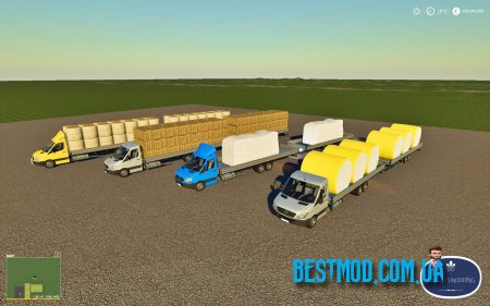 MERCEDES SPRINTER PICKUPLONG V1.1 ДЛЯ FARMING SIMULATOR 2019