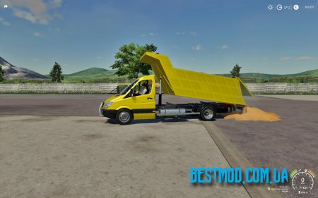 MERCEDES SPRINTER KIPPER V1.0 ДЛЯ FARMING SIMULATOR 2019